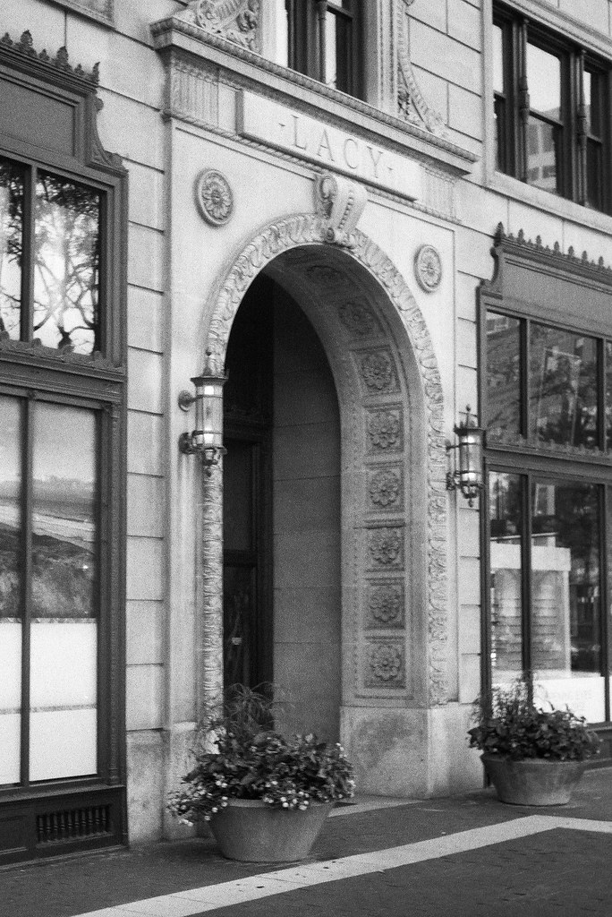 Lacy Building entrance