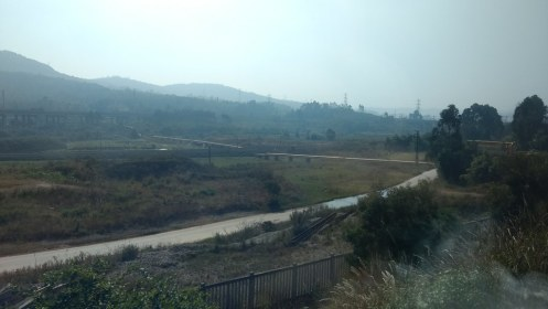 Train: Kunming - Hekoubei