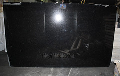 Black Galaxy Granite slabs for countertop