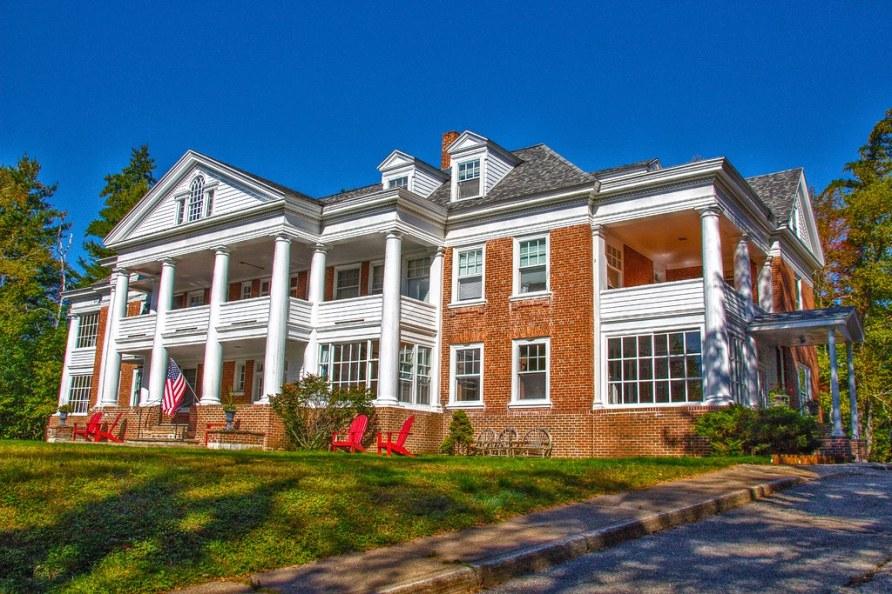 Saranac Lake ~ Prescott House ~ AKA ~ The Reception Hospital ~ Historical