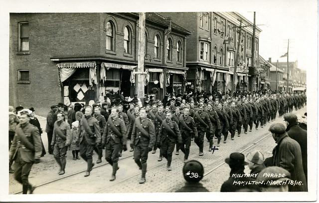 Military Parade, Hamilton, March 18/16.