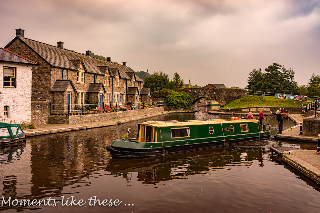 Brecon Canal from Pencelli 2017