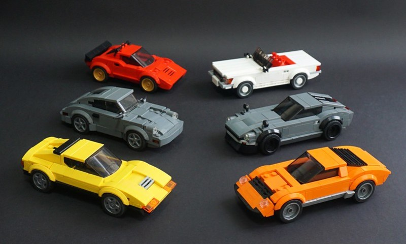 Lego Speed Champions for Adults - 01