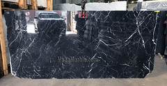 Nero Marquina 2cm marble slabs for countertops A