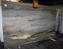 Aurora Blue 3cm marble slabs for countertops