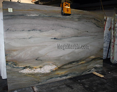 Aurora Blue 3cm marble slabs for countertops