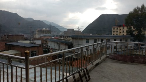 View from our hostel
