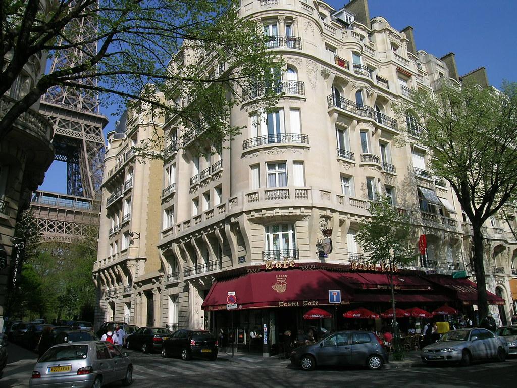 Avenue De Suffren Paris France Castel Caf 233 On The