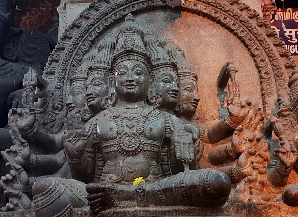 Sculpture, Meenakshi Temple, Madurai (3)