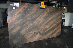 Copper Dunes 3cm marble slabs for countertops