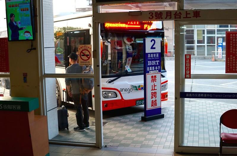 嘉義駅 BRT