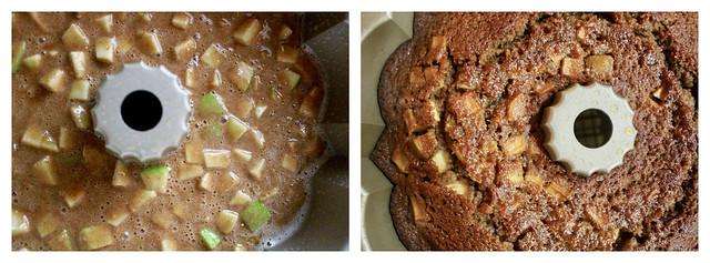 Apple Orange Rye Honey Cake - 46