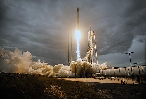 OA-8 Antares Launch