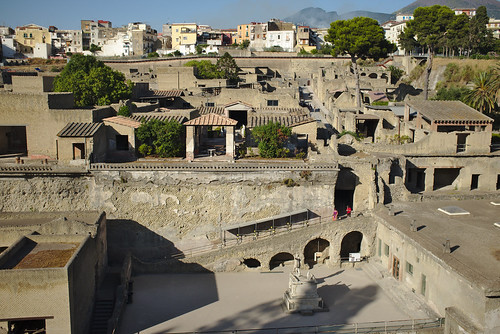 Herculaneum, looking northeast
