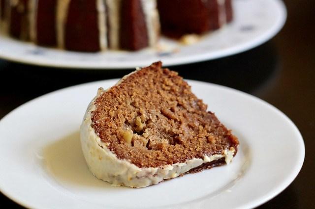 Apple Orange Rye Honey Cake - 34