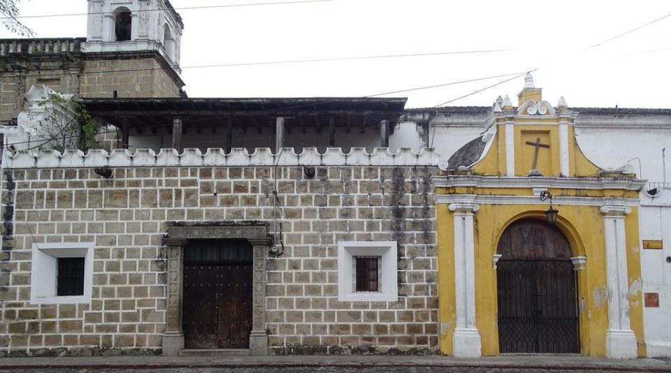 Antigua Alameda del Calvario capilla del Via Crucis Guatemala 07