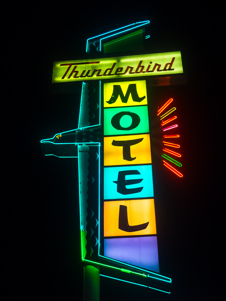Thunderbird Motel Sign