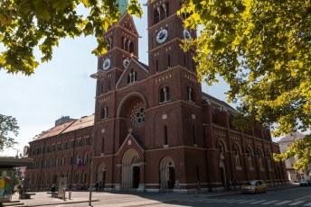 Nog meer kerken, maar deze staat in Marburg an der Drau in het noorden van het land.