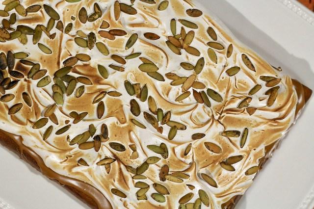 Pumpkin & Cookie Butter Sheet Cake - 29