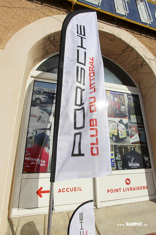 Sudetic drapeaux Porsche Club du Littoral-5