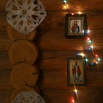 2018 01 07 Christmas. All-night vigil in the Kazan temple (Kyiv, Ukraine). Icons