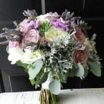 Bridal Bouquet Amnesia Roses Succulents Lavender Spray Flickr