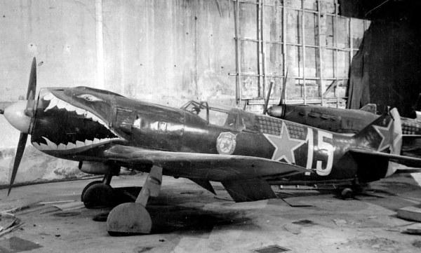 Самолет Ла-5 Костылева в экспозиции Музея обороны Ленингра ...