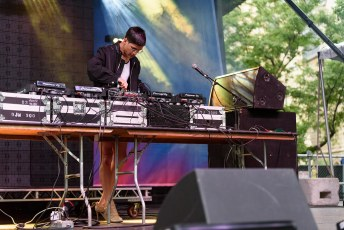 Arca & Jesse Kanda @ Pitchfork Music Festival, Chicago IL 2017