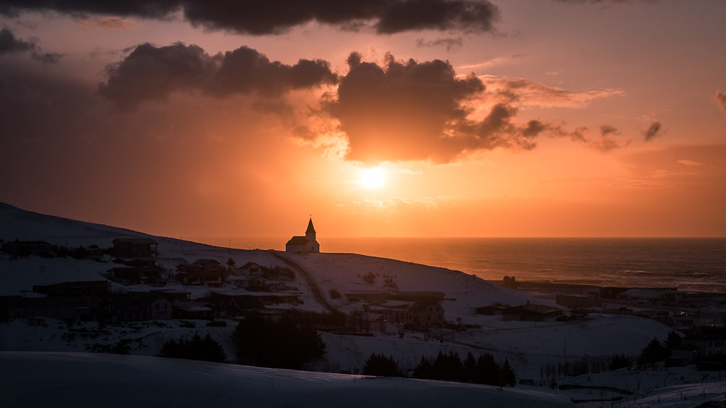 Sunrise In Vik Iceland Landscape Photography Check