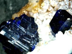 Mineral: Azurita