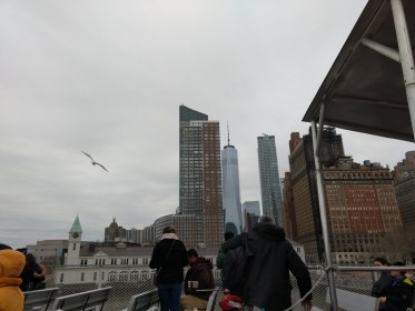 Ferry to Liberty and Ellis Islands