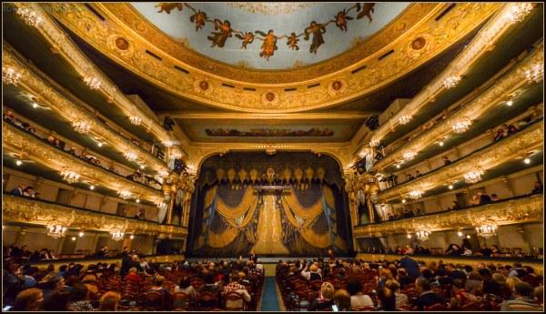 Teatro Mariinsky | San Petersburgo, Rusia. | Miguel ...