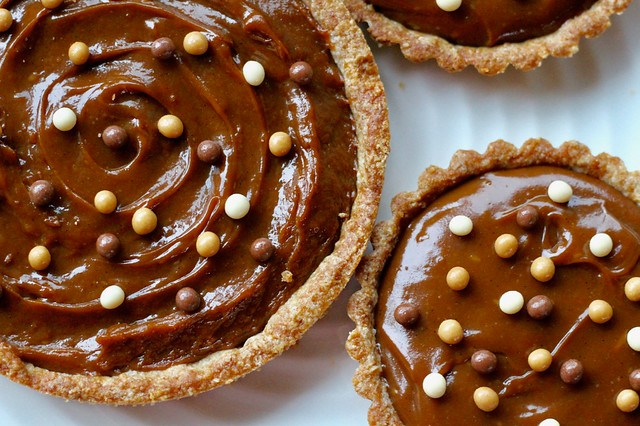 Butterscotch Pudding Tarts - 42