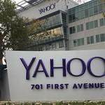 At Yahoo! campus
