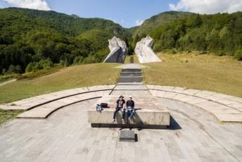 Een aantal weken later was ik weer terug in Bosnië, nu met Hagan.