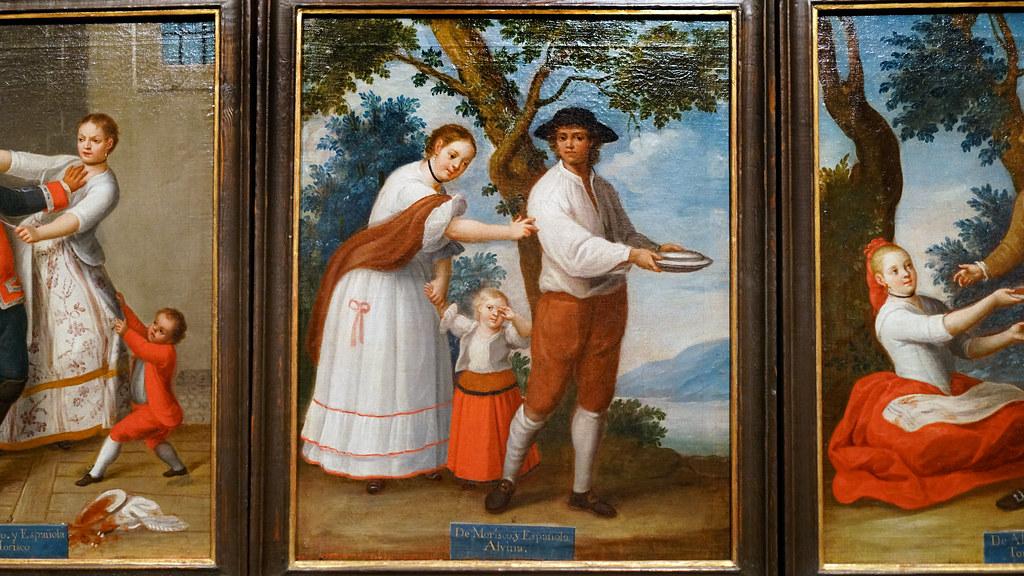 Clapera Casta Paintings Francisco Clapera Set Of