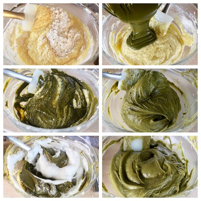 Pistachio Soufflé Cakes - 26