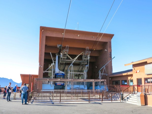 Teleférico del Teide es una de las paradas en El Teide en transporte público