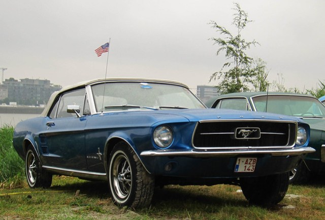 1967-68 Ford Mustang Convertible