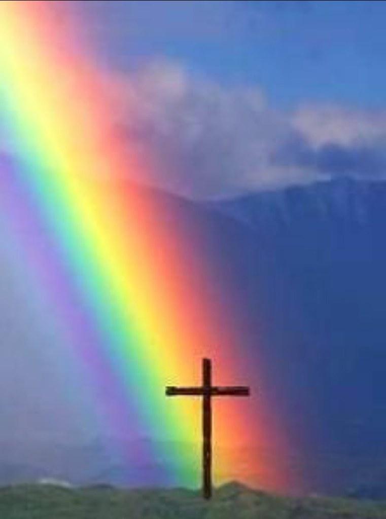 Rainbow Jesus Gaiafly Flickr