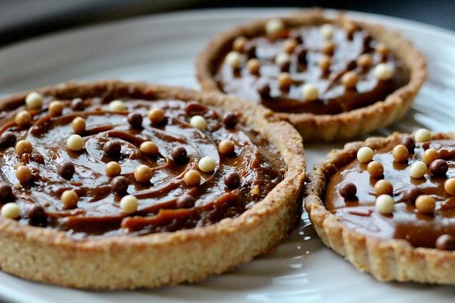 Butterscotch Pudding Tarts - 44