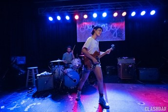 Diet Cig @ Cats Cradle Back Room in Carrboro NC on April 15th 2017