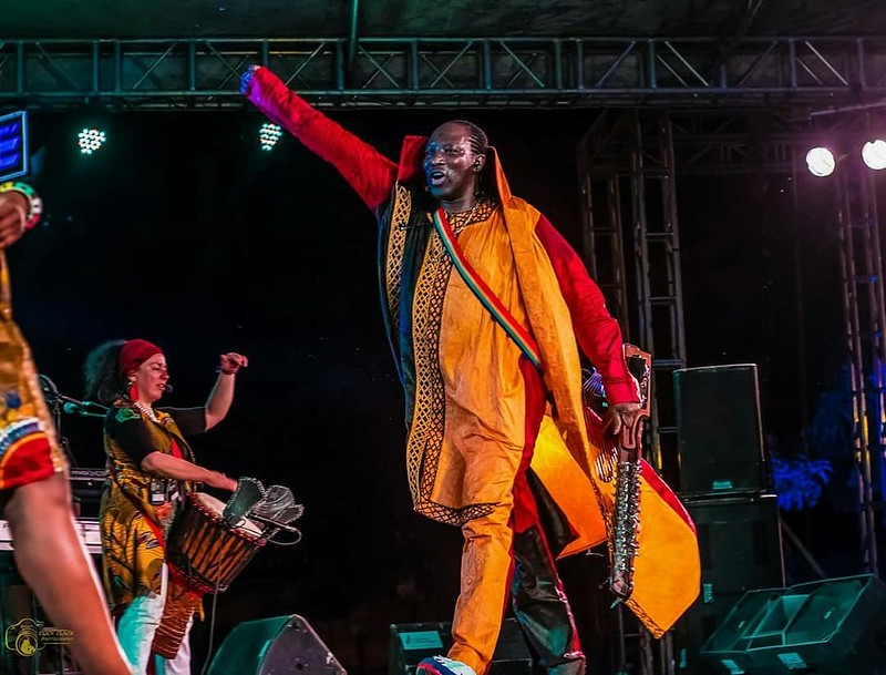 Our show in ABIDJAN at the Masa Festival was a big success!