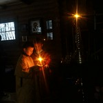 2018 03 17 All-night Vigil. Little readers. Orthodox Church. Kyiv