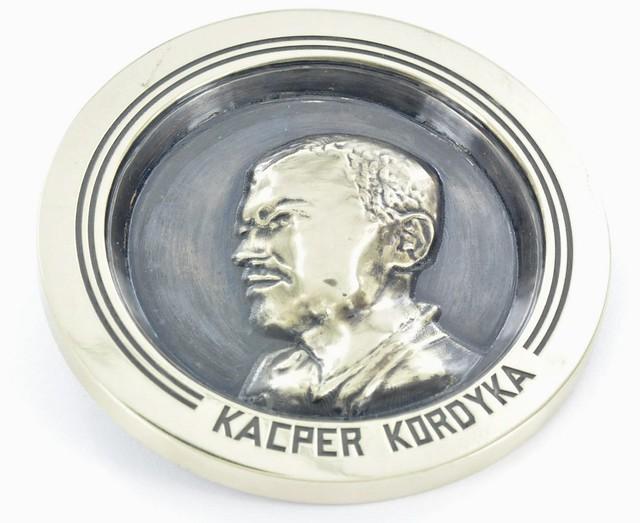 medal mosiężny