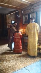 2018 03 10-11 After liturgy,  moleben