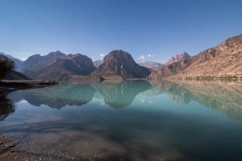 We reden in één keer door naar een ander meer, Iskander Kul.