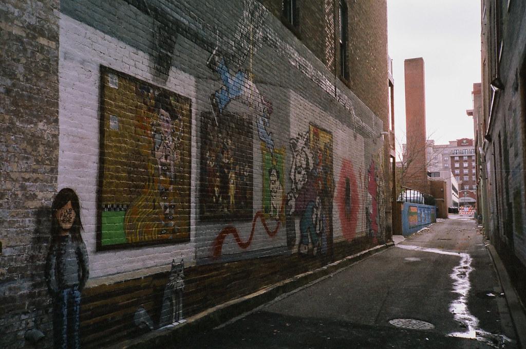 Down a Lafayette alley
