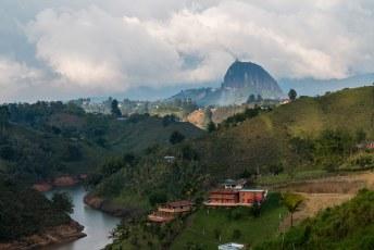 Voorts bezochten wij El Piedra de 'El Peñol de Guatapé'.