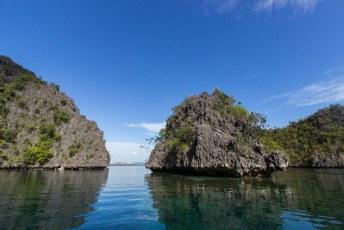 langs Coron Island bijvoorbeeld